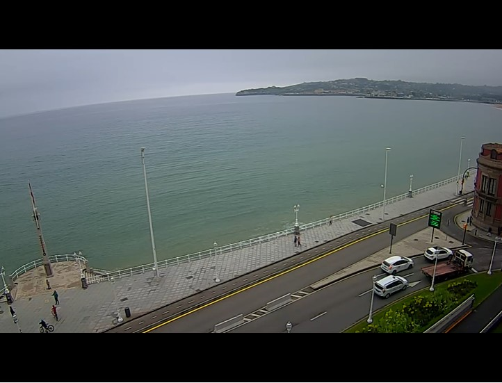 webcam gijon