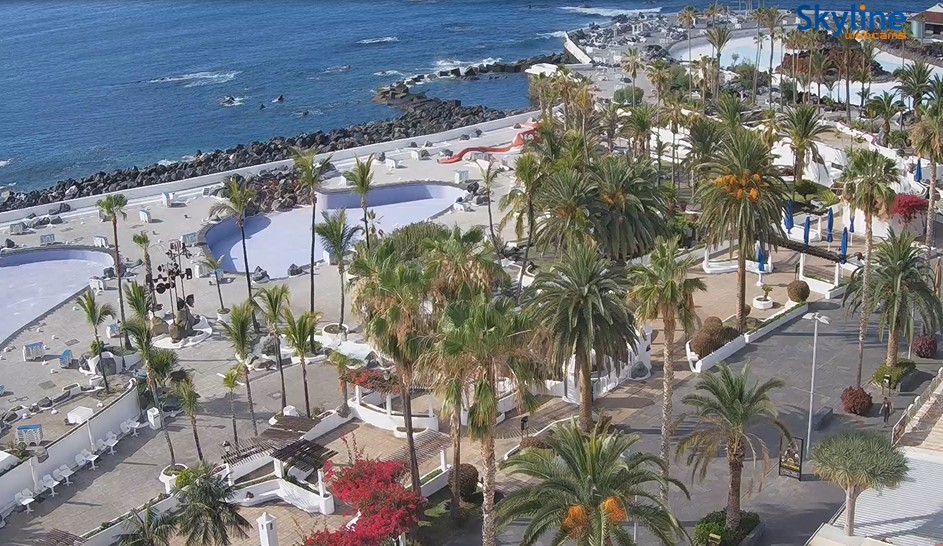 webcam tenerife puerto